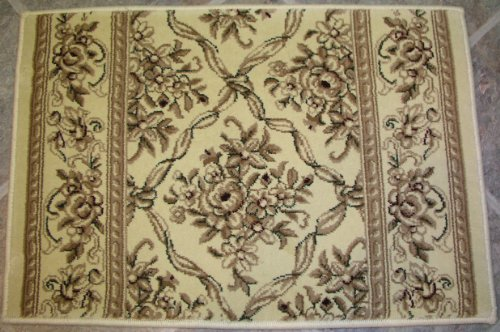 Custom Ivory Roll Runner (148861 - Rug Depot Legacy Collection - 31