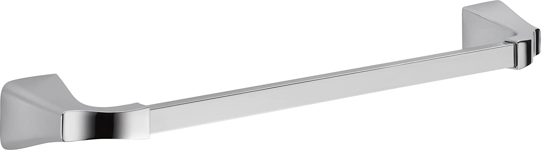 "Delta Faucet 75218 Tesla Towel Bar, Chrome, 18"""