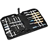 Vktech® Culinary Carving Tool Set Fruit/vegetable Garnishing/cutting/slicing Set Garnish Tool Set (46pcs)
