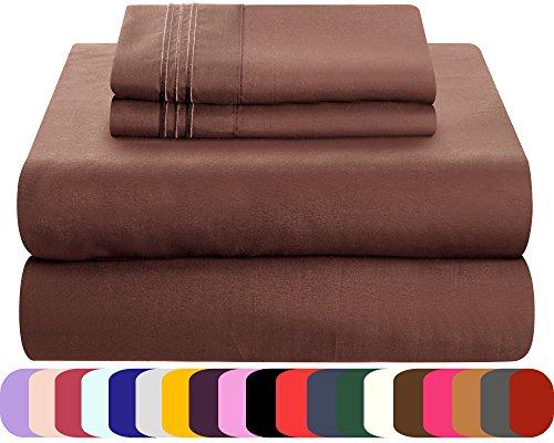 Mezzati Luxury Queen Sheet Set - Soft and Comfortable 1800 L
