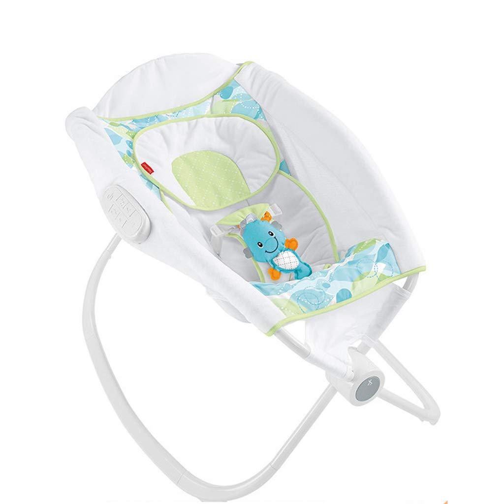 Jiu Si- Cradle Baby Smart Sweet Sleep Shaker Electric Cradle Bed Multi-Function Sleepy Appease Baby Rocking Chair by Jiu Si-(Children's products & toys)