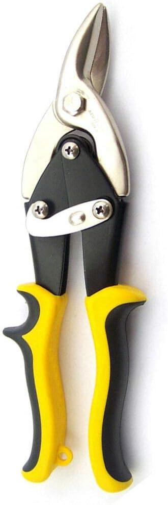 tijeras de hojalata corte izquierdo 1 tijeras de aviaci/ón corte goma. para cortar aluminio azulejos tijeras de chapa serie aviaci/ón cuero chapa