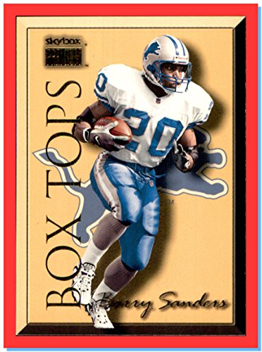 1999 SkyBox Premium Box Tops #9BT Barry Sanders DETROIT LIONS HOF