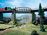 #9: HO Scale Girder Bridge Curved for 40mm Track