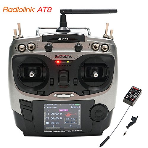 ARRIS RadioLink AT9 9-Channel 9CH 2 4GHz Transmitter + R9D Receiver (with  S Bus) for RC Airplane Quadcopter Helicopter ¡