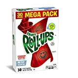 Betty Crocker Fruit Roll-Ups Strawberry Sensation Mega Pack 30 - 0.5 oz Rolls