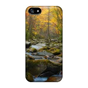 Bg-533-DUlo Anti-scratch Case Cover Lajonline Protective Forest Spring Case For Iphone 5/5s