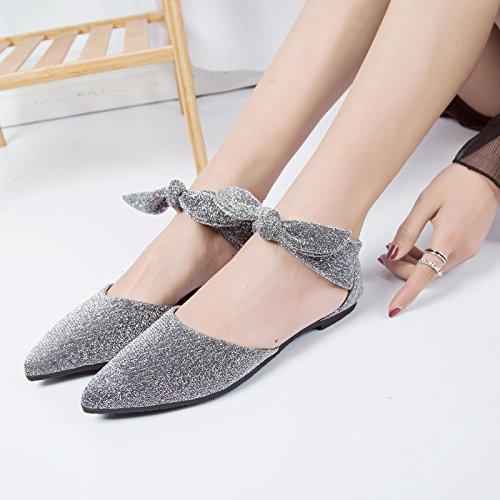 Piscine Plage Unbekannt pour Chaussures spécial et Femme Gris xqZZFwaHO
