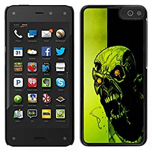 Design for Girls Plastic Cover Case FOR Amazon Fire Phone Crazy Evil Zombie OBBA