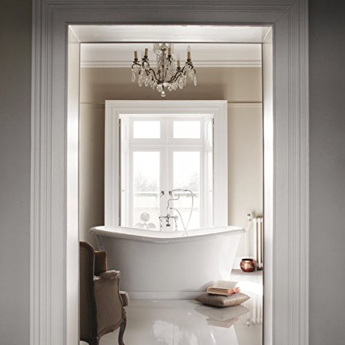 Casa Padrino bathtub freestanding 1650mm BAdm165 - Freestanding Retro antique bathtub