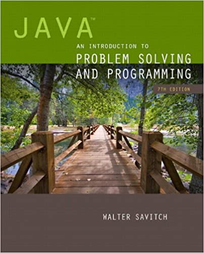Java: An Introduction to Problem Solving and Programming plus ...