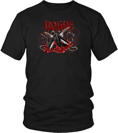 D20 Roleplay Dice Tabletop Gamer Rogue Life Mens D/&D Gaming T-Shirt