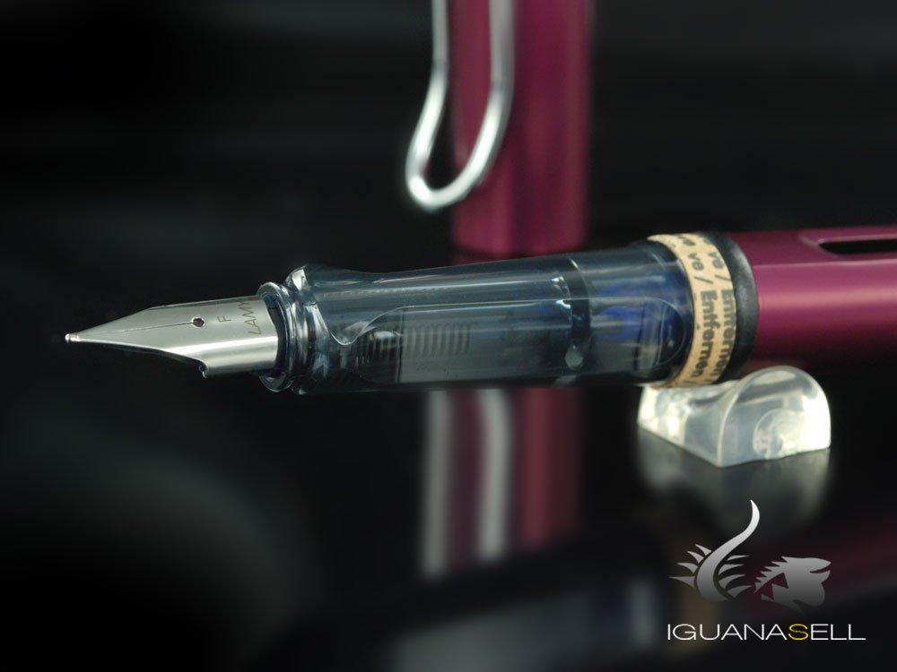 Lamy 1321732 Penna Stilografica Al Star Black Purple Pennino F