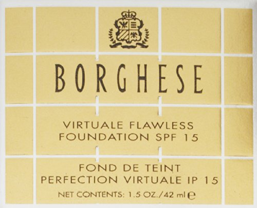 Amazon.com: Borghese Virtuale Flawless Foundation SPF 15, 1.5 oz: Luxury Beauty