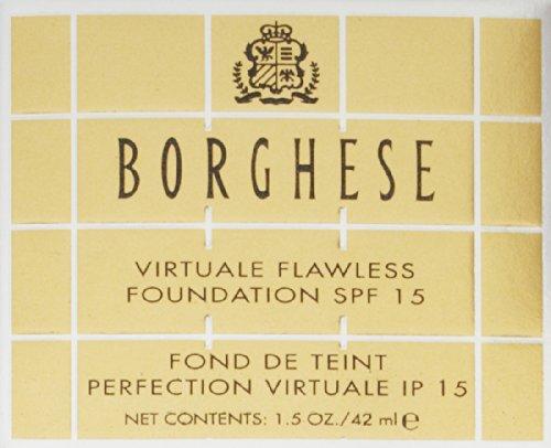 Amazon.com: Borghese Virtuale Flawless Foundation SPF 15, 1.5 oz: Luxury Beauty