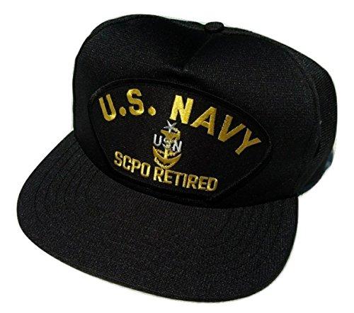 E8 Ball Cap (US Navy Scpo Senior Chief Petty Officer E-8 Ball Cap)