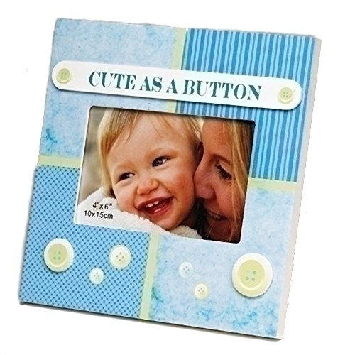 cute as a button picture frame - 7