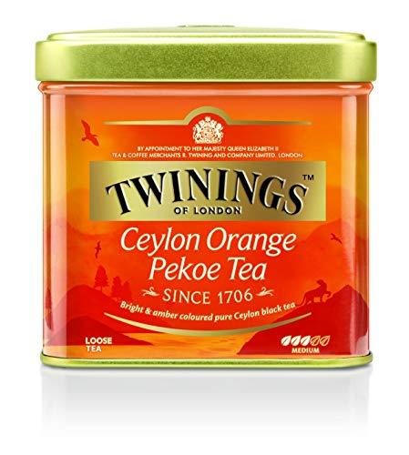 Twinings Ceylon Orange Pekoe loser Tee Dose 100g, Schwarztee, Das erfrischende Aroma charakterisiert diesen Tee...