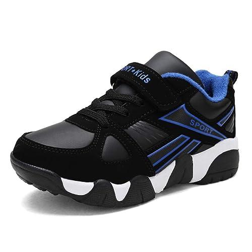 Zapatillas De Deporte para NiñOs Zapatos De Invierno para NiñOs Entrenador Deportivo Zapatillas De Deporte para Correr Al Aire Libre Zapatos De Baloncesto ...