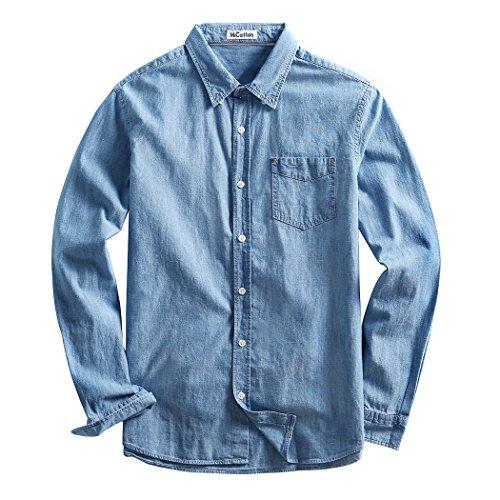 Button Up Cotton Jeans - 3