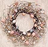 """Wreath Eggs and Pips 16"""" Easter Decorations"""
