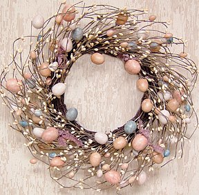 Wreath Eggs And Pips 16 Quot Easter Decorations