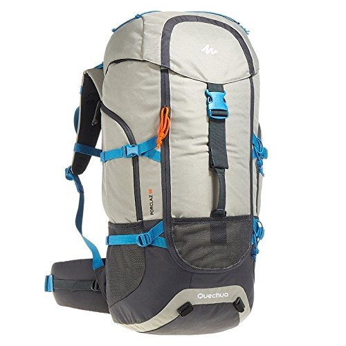 Quechua Hiking Camping Water Repellent Backpack Rucksack Forclaz 50L For Sale