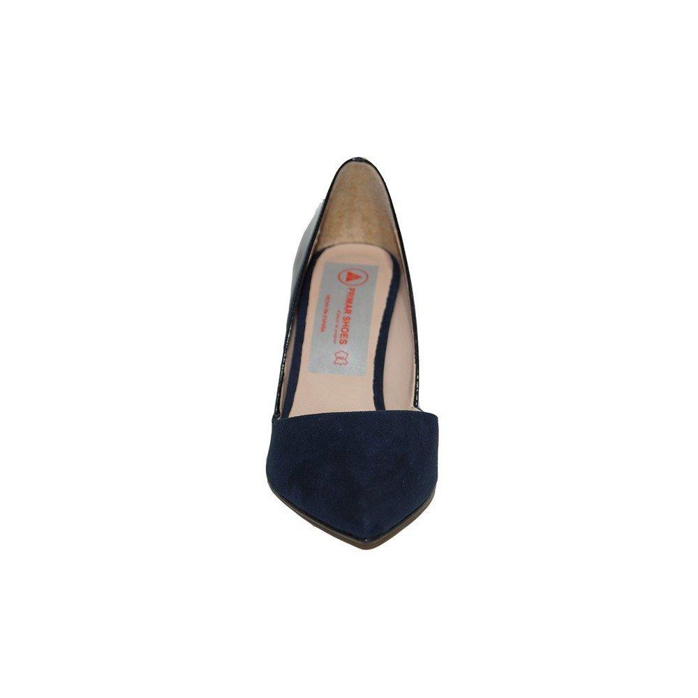 b0e7faed PRIMAR SHOES - Zapato TACÓN Alto MANOLI PS123 Mujer Plantilla Piel  Elegantes Clásicos Fiesta Verano Moda 2018 Cómodos Color Negro Azul  Burdeos: Amazon.es: ...