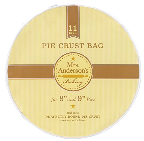 Mrs. Anderson's Baking Easy No-Mess Pie Crust Maker Bag, (Pie Crust Tools)