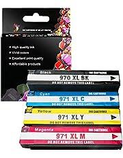 970XL (970C 970M 970Y 970BK) Ink Cartridge Compatible Replacements for HP officejet Pro X451dn X4 76dw Multifunction X476dn 551dw X576dw X451dw