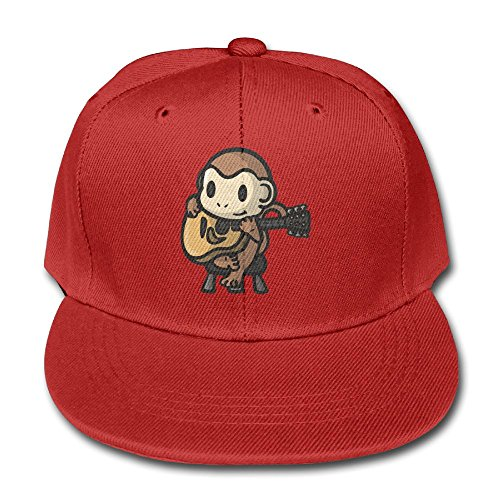 Z Cheing Adjustable Boy&Girl Cute Monkey Play Guitar Toddler Baseball Caps Hats