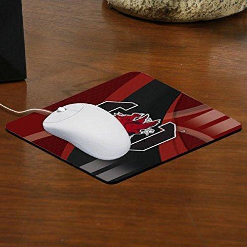 The Memory Company NCAA University of South Carolina Carbon Fiber Mousepad, One Size, Multicolor by The Memory Company