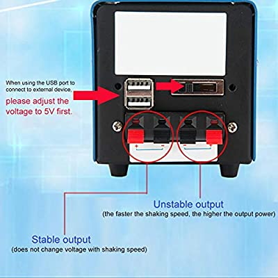 LiféUP Hogar Generador Manual de Alta Potencia Desastre Generador portátil de Emergencia USB Cargador de computadora móvil DIY