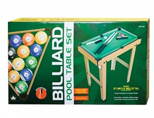 Kids Pool Table with Legs - Bundle with Development Toys