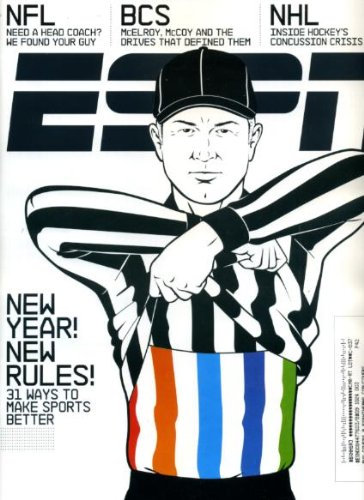 (ESPN January 11 2010 Greg McElroy/Alabama & Colt McCoy/Texas, Concussions in the NHL, Johnny Weir/Figure Skating, Dwight Freeney/Indianapolis Colts Q&A, Poem to Drew Brees/New Orleans Saints)