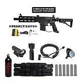 98 custom flatline - Tippmann U.S. Army Project Salvo w/ E-Grip Tactical Red Dot Paintball Gun Package - Black