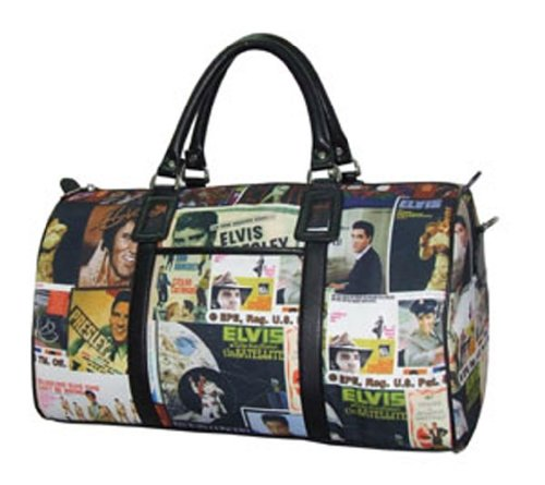 Price comparison product image Elvis Presley Overnight Bag Collage Style