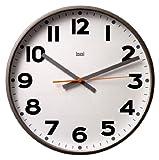 Bai Jumbo Wall Clock, Madison Gunmetal