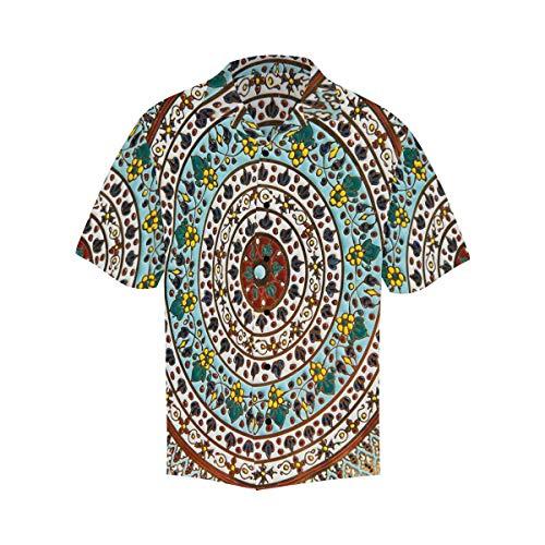 - InterestPrint Men's Ceramic Dish Beach Party Hawaiian Shirts XL