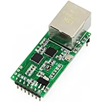 USRIOT USR-TCP232-T2 Tiny Serial Ethernet Converter Module Serial UART TTL to Ethernet TCPIP Module Support DHCP and DNS