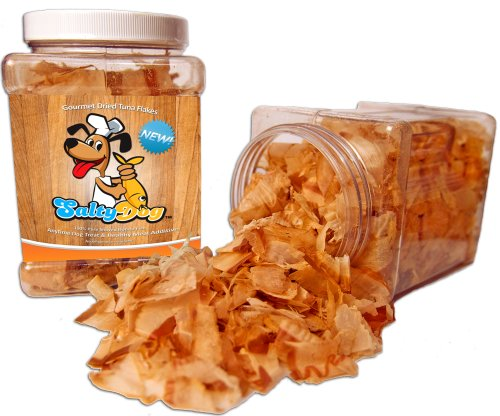 SaltyDog Gourmet Dried Tuna Flakes - 6 oz Jar