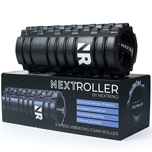 Vibrating foam roller trusted by athletes