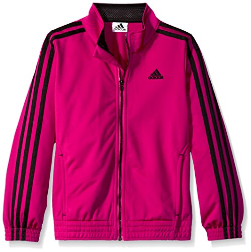 Price comparison product image Adidas Little Girls' Track Jacket,  Bold Pink,  6X