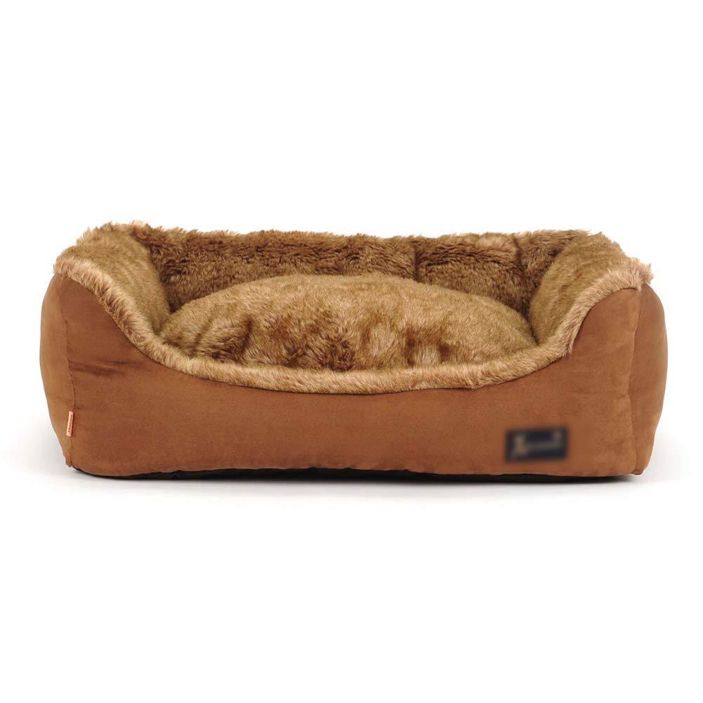 L-90×80×26cm Pet Sofa Puppy Cat Warm House Cozy Nest Mat Pad Pet Nest Dog Cat Bed Four Seasons Universal Kennel (Size   L-90×80×26cm)