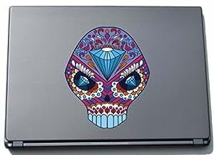 Del ordenador portátil afable Laptop Skin 026 - cráneo loco - 210 x 175 mm Etiqueta