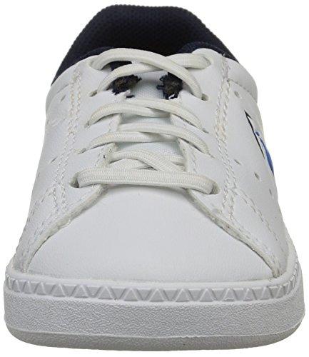 Le Coq Sportif Courtone Inf - Primeros Pasos de material sintético Bebé - unisex Blanco - Blanc (Optical White)