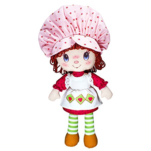Basic Fun Strawberry Shortcake 35th Anniversary Soft, Retro Doll