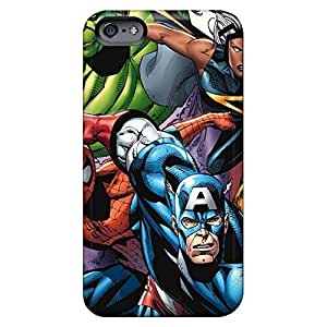 Back cell phone shells Protective Beautiful Piece Of Nature Cases Excellent Fitted iphone 5 / 5s - avengers i4