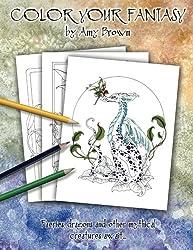 Color Your Fantasy Coloring Book