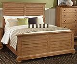 American Woodcrafters 5100-50-PAN-SPEC Pathways Sandstone Panel Bed, Queen, Brown